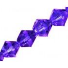 Bikone formos kristalai