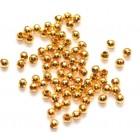 Aukso spalvos karoliukai