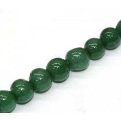Žalio avanturino karoliukai