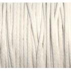 Balta vaškuotos medvilnės virvelė