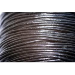 Apvali odinė virvelė 1 mm
